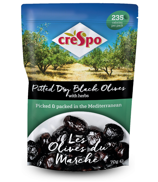 Pitted Dry Black Olives